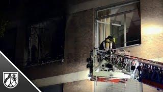 Ein Toter und viele Verletzte bei Brand in Düsseldorfer Marien-Hospital