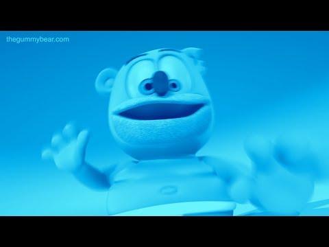BLUE & TRIPLE LANGUAGE Gummibär REQUEST VIDOE Spanish & Thai & Mandarin Gummy Bear Song
