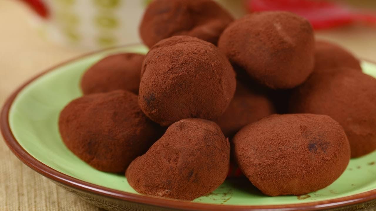 Milk Chocolate Truffles Joyofbaking Com Video Recipe