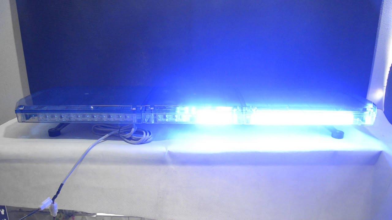 Blue light bar emergency vehicle light tbd grt 002 youtube blue light bar emergency vehicle light tbd grt 002 aloadofball Gallery