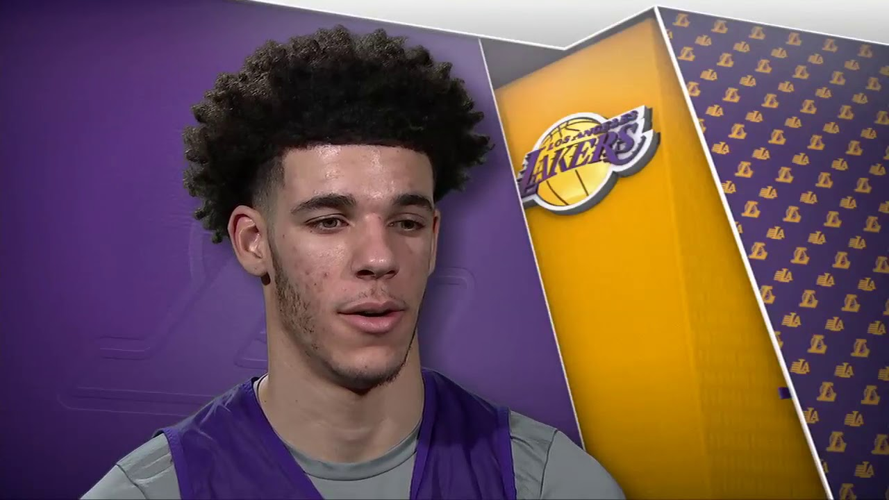 Lonzo Ball interview talks Lakers debut ...