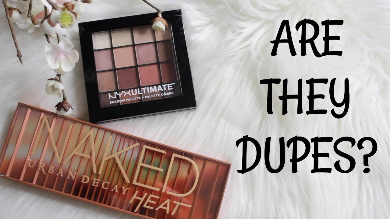 Populaire ARE THEY DUPES? URBAN DECAY HEAT vs NYX WARM NEUTRAL | COMPARISON  ND22