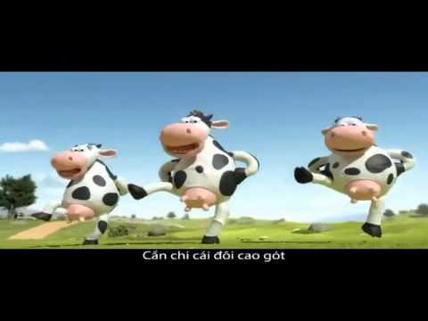 Quảng cáo sữa Vinamilk 2012, Quảng cáo con Bò cười Bản full HD   YouTube