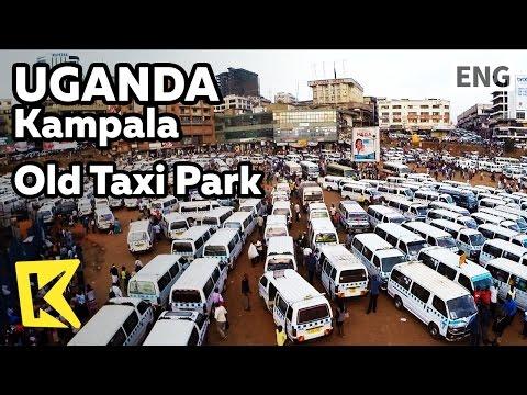 【K】Uganda Travel-Kampala[Uganda 여행-캄팔라]캄팔라 교통수단 미니버스/Means of transportation/Old Taxi Park/Minibus