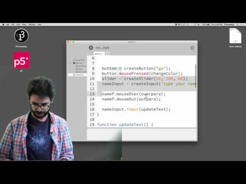 Live Stream #8.2: HTML / CSS / DOM With P5.js - Part 2