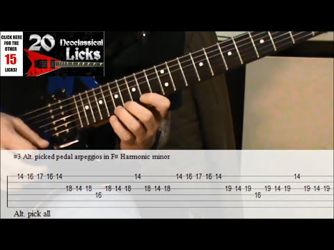 5 Neoclassical Metal Guitar Licks