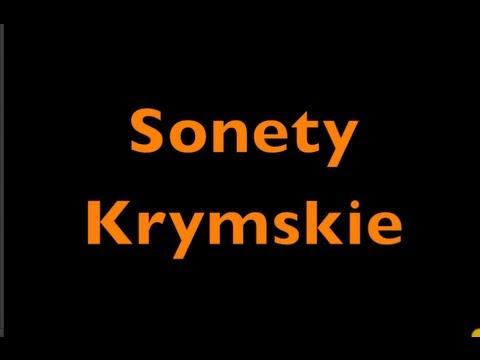 Sonety Krymskie Adam Mickiewicz, wszystkie sonety. Audiobook
