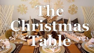 How To Decorate Your Dining Table For Christmas