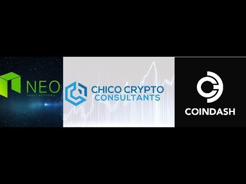 NEO Blockchain's next big price breakout and major partnership announcement with CoinDash!!