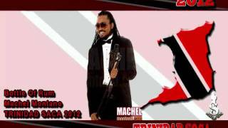 Bottle of rum Machel Montano Soca 2012