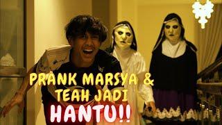 AMIR LARI NAMPAK H4NTU !! - PRANK MARSYA & TEAH SER4M !!