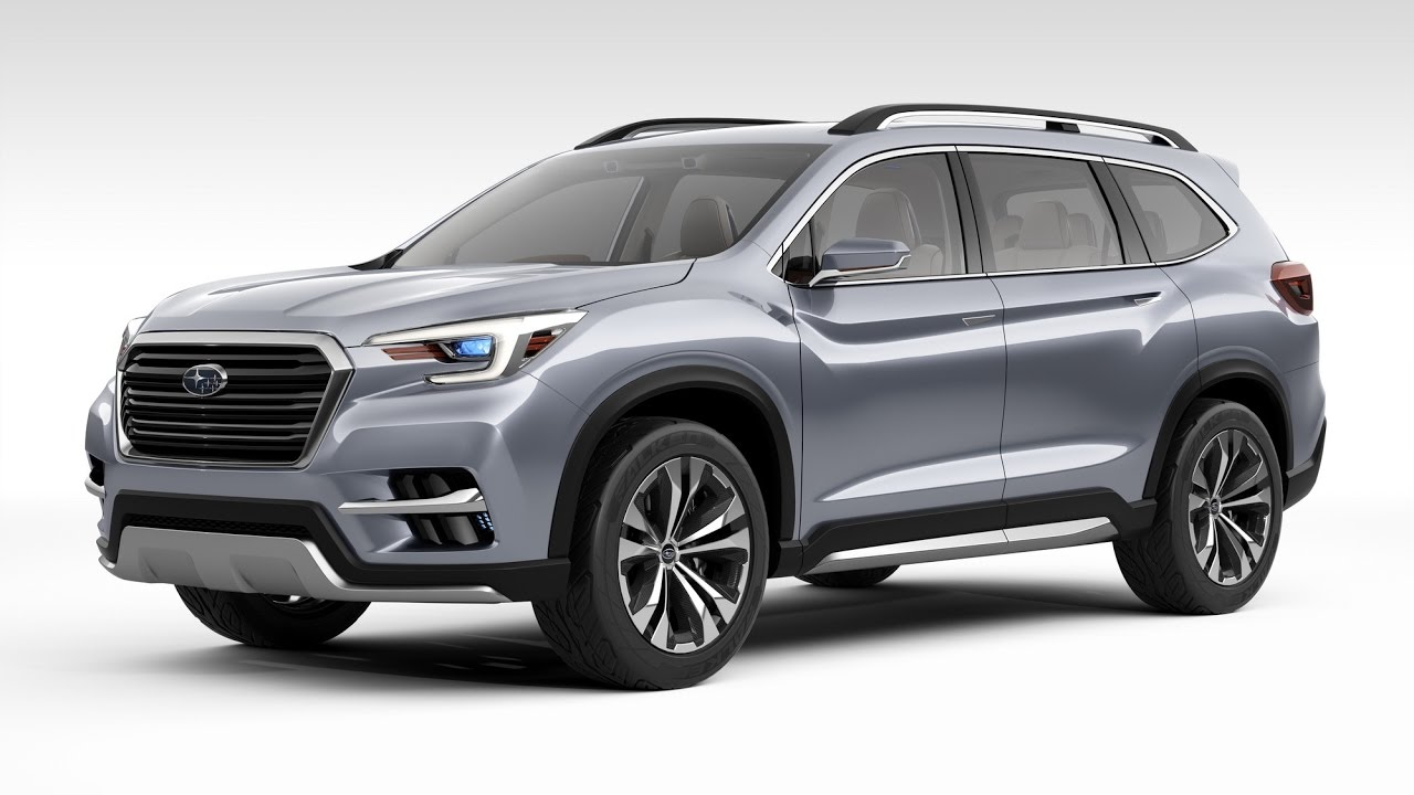 all new subaru ascent 7 passenger suv exterior and interior tour youtube. Black Bedroom Furniture Sets. Home Design Ideas