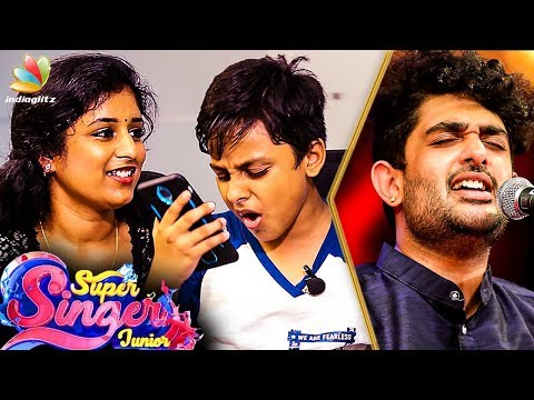 Chinmayi and Surya's Performance from Super Singer Junior 6 | Vijay TV | Sid Sriram
