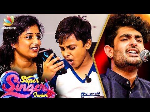 Chinmayi and Surya's Performance from Super Singer Junior 6   Vijay TV   Sid Sriram