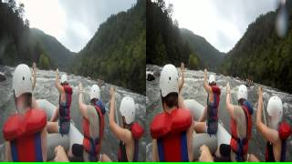 "3D Ocoee River Whitewater Rafting 6 ""Good Luck Rock"""