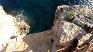 Rope swing with Experience Mallorca