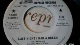 Watch Randy Newman Last Night I Had A Dream video