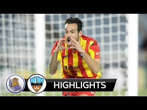 |HD| Real Sociedad vs Lleida 2-3 - Highlights - Copa del Rey