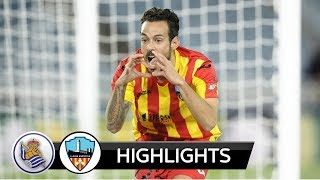 Video Gol Pertandingan Real Sociedad vs Lleida Esportiu