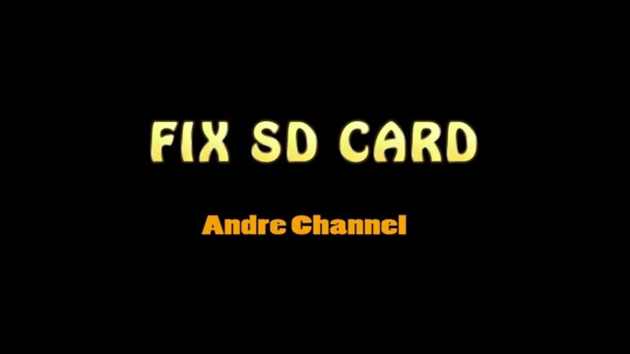 Cara Memperbaiki Sd Card Android Minta Format Youtube