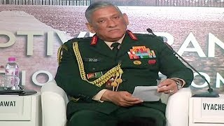 Army Chief : Need to curb entire terrorism ecosystem