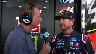 Kurt Busch Explains How He Lost Pole To Younger Brother, Kyle