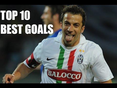 Alessandro Del Piero ● The Legend ● Top 10 Best Goals ● HD