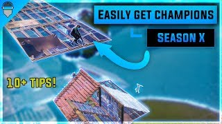 10+ Easy Tips To Get You To Champion Division In Season X! (How To Get Champions Division Fortnite)