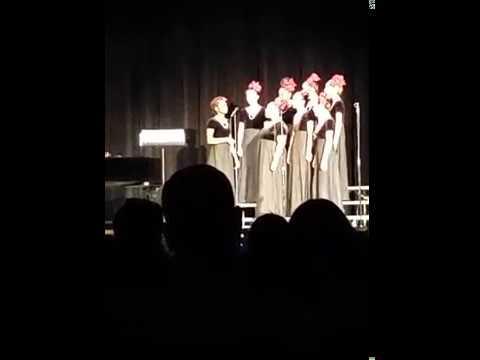 Holy names High School women's choir 2017