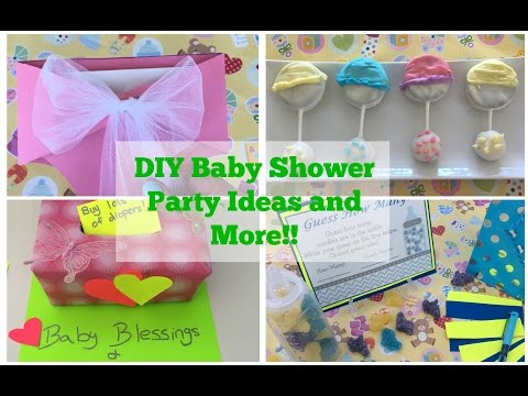 Pinterest Diy Baby Shower Party Ideas Tutorial
