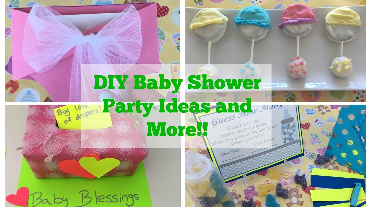 Pinterest Diy Baby Shower Party Ideas Tutorial Decorations And