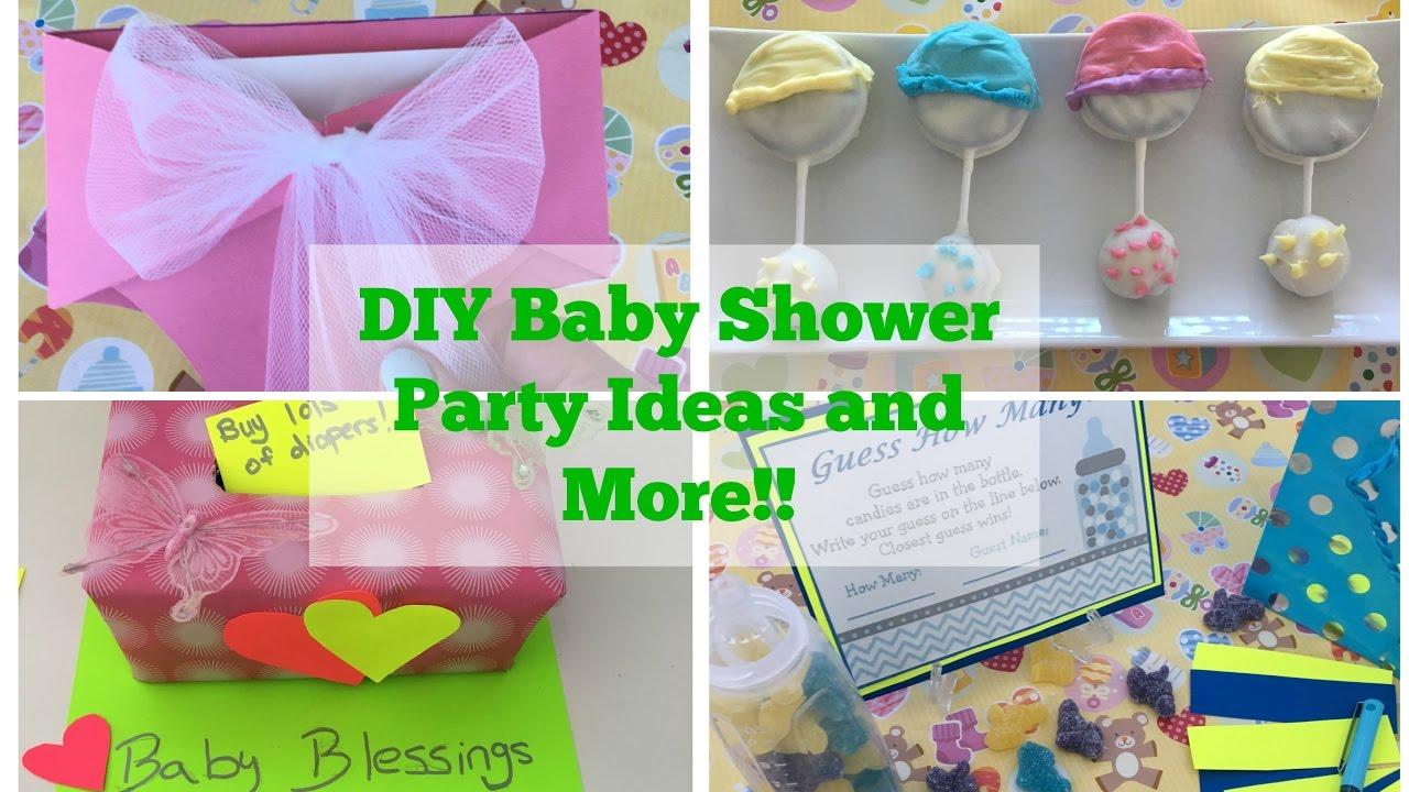 Pinterest Diy Baby Shower Party Ideas