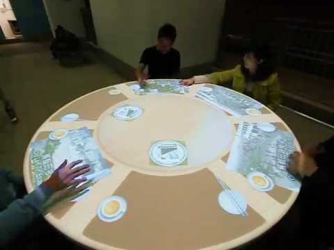 Interactive Projection Table for Hong Kong Housing Authority | Hong Kong