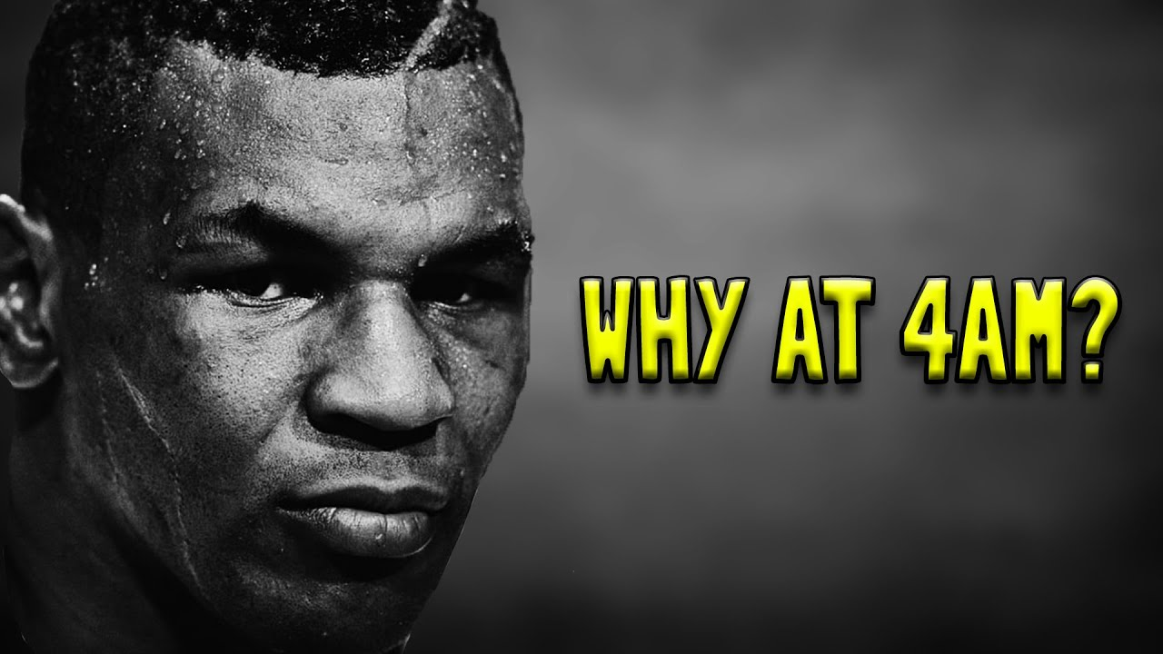 "Mike Tyson: ""I Do It Because I Don't Want To Do It..."""