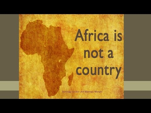 """Africa is Not a Country,"" a presentation from two JJC students"