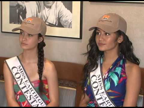Miss Earth Guam contestants take eco-tour in Talofofo
