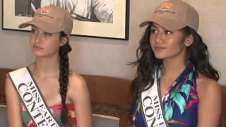 Miss Earth Guam contestants take eco-tour in Talofofo