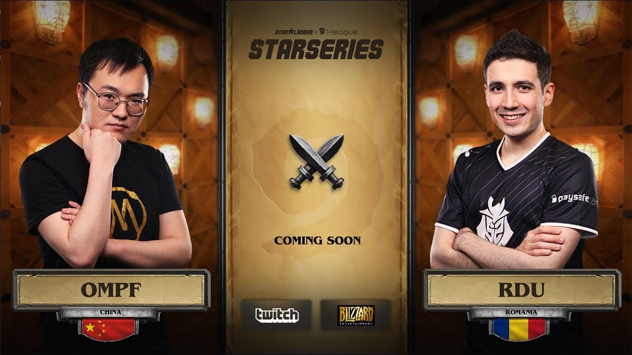 [RU] OMPF vs RDU | SL i-League Hearthstone StarSeries Season 3 (11.06.2017)