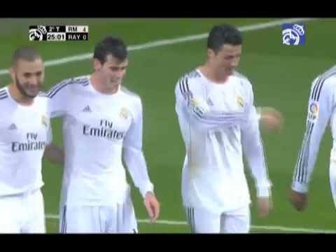 Gareth Bale's brilliant goal against Rayo Vallecano