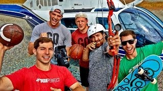 Extreme Trick Shots | Dude Perfect