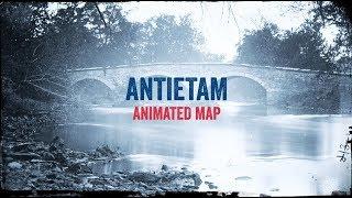 Antietam: Animated Battle Map