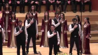 Jugendchor Bogazici Jazz Choir/Türkei: Medley Anatolia, EJCF Basel 2016