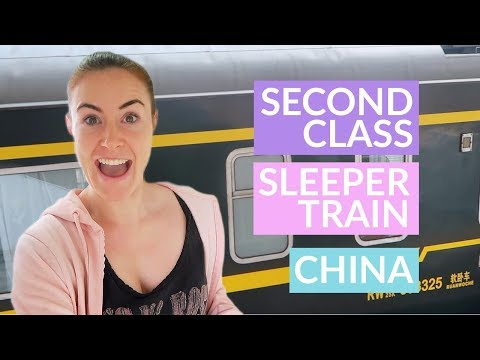 OVERNIGHT Train in China   | China Travel Guide 中国 培养 视频