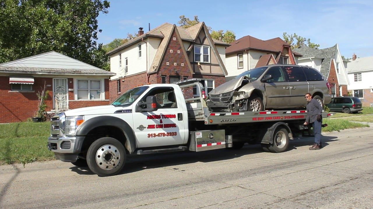 A & D Junk Car Removal & Automobile Salvage in Detroit, MI - YouTube