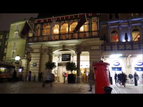 Video Review of Amba Hotel Charing Cross in London, England by The Honeymoon Guy