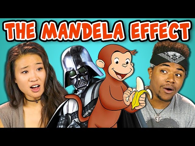10 Creepy Mandela Effects With College Kids React Youtube