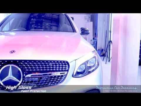 Mercedes AMG GLC43 Iridium Silver Definitive Sydney Liquid Glass Ceramic Coating High Gloss Paint Pr