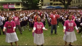 Dance in Manila to protest violence against women