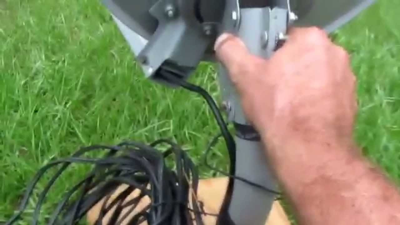 Direct Tv Satellite >> How To Set Up Direct TV Satellite Dish. - YouTube