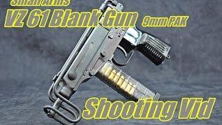 vuclip Small Arms VZ 61 Blank Gun Shooting Scorpion 9mm PAK